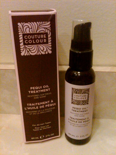 Review:  Couture Colour Pequi Oil Treatment