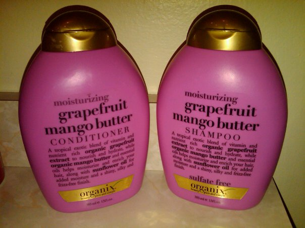 Review: Organix Moisturizing Grapefruit Mango Butter Shampoo and Conditioner