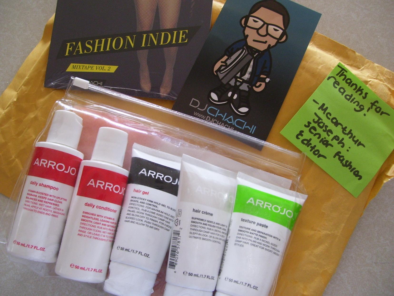 Thanks FashionIndie.com!! What I Won in a Twitter Giveaway!