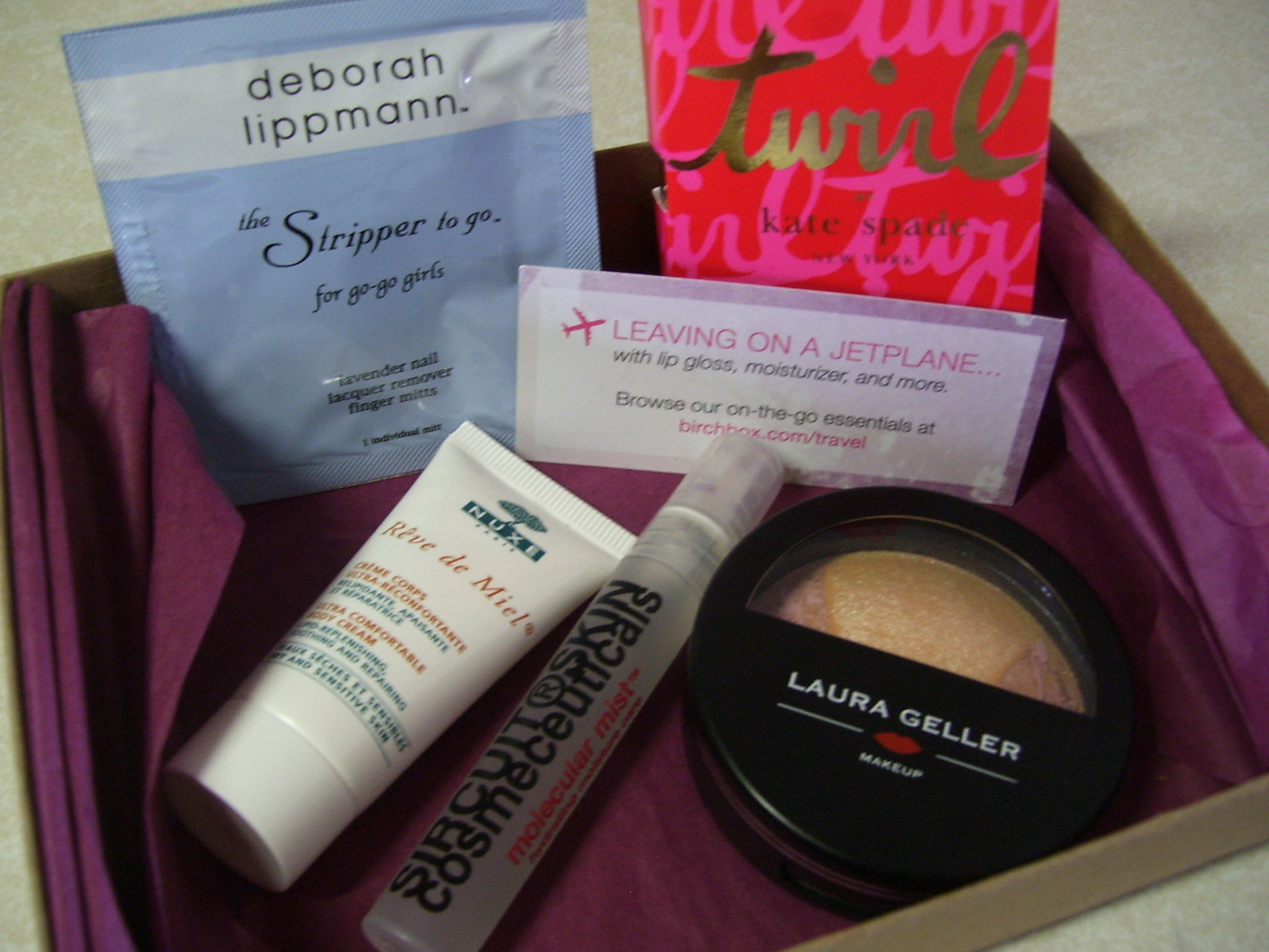 Final Thoughts on My June 2011 Birchbox Products