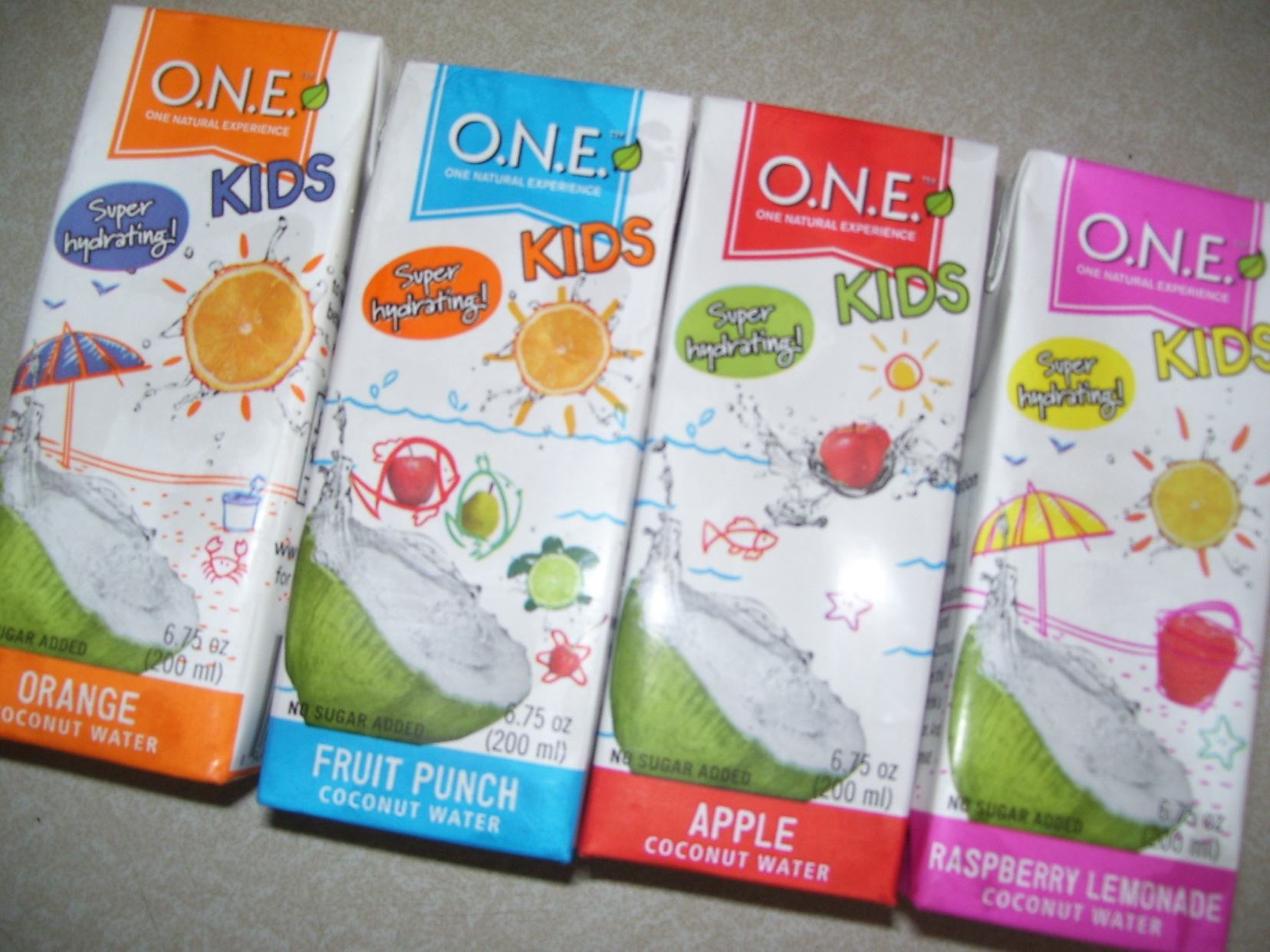 O.N.E. Kids Coconut Water – Keeping My Kids Happy and Hydrated