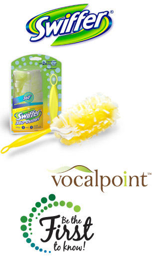 FREE Swiffer from Vocalpoint NOW