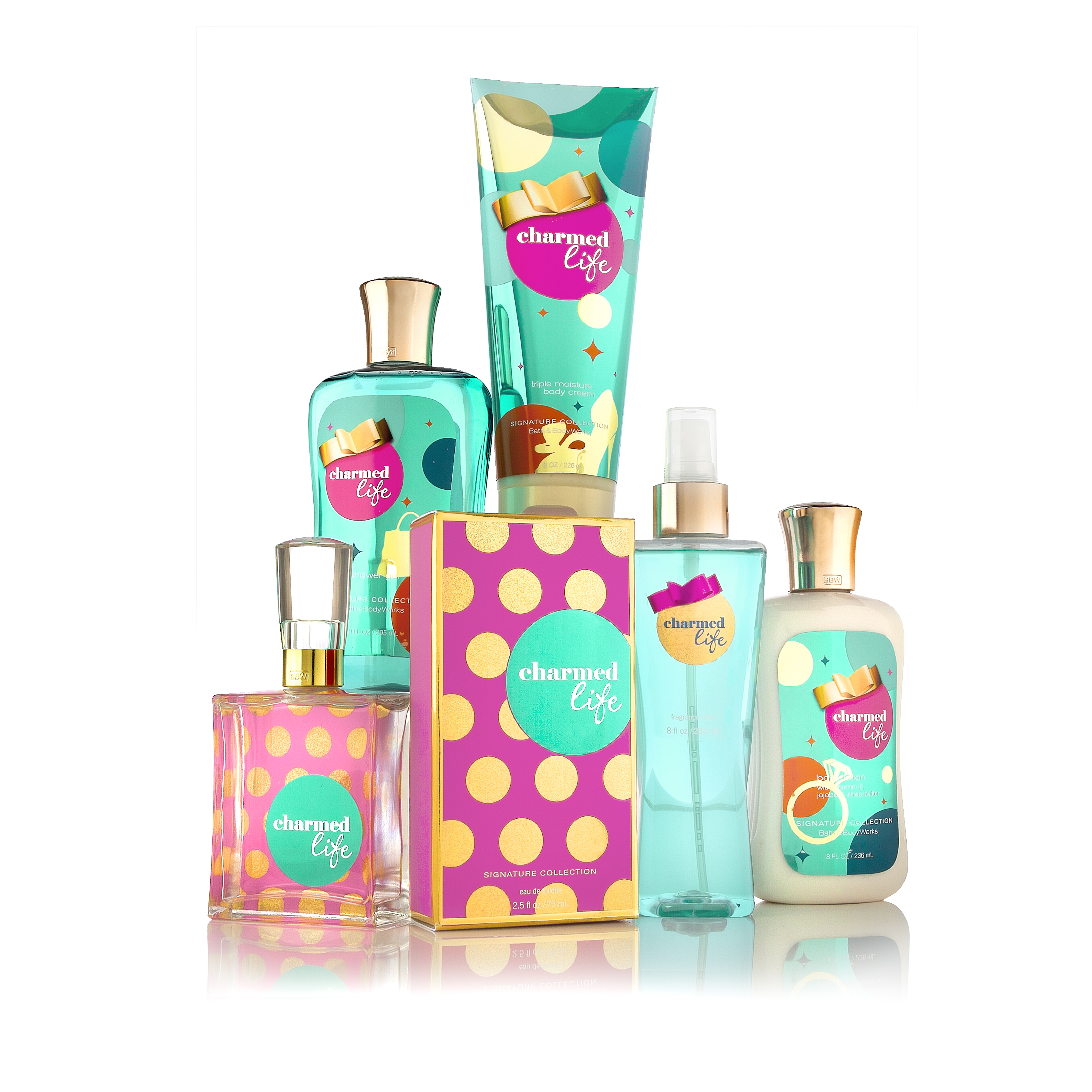 New for Fall 2011 at Bath & Body Works:  Charmed Life