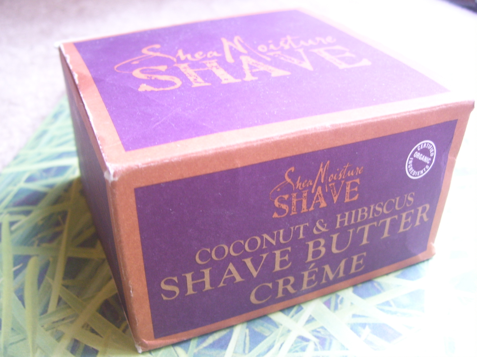 Coconut Hibiscus Shave Butter Creme by SheaMoisture Shave