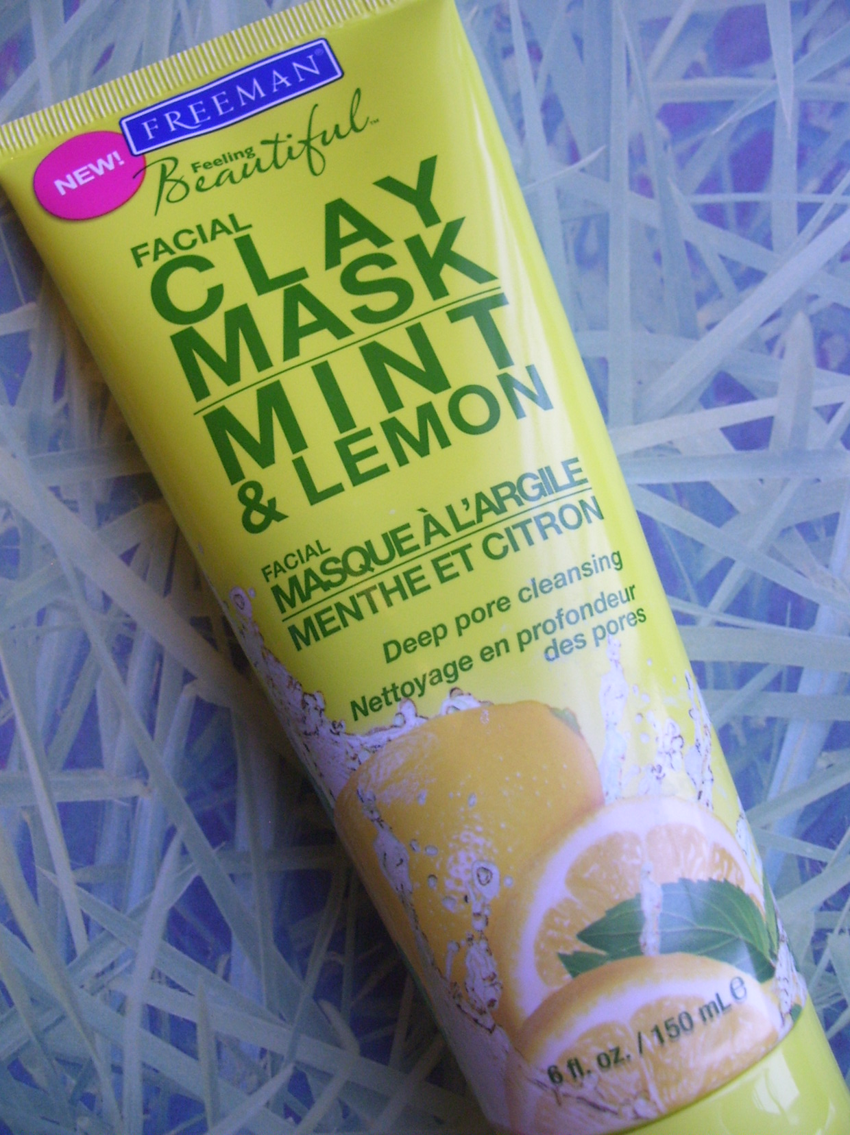 Review:  Freeman Beauty Mint & Lemon Facial Clay Mask