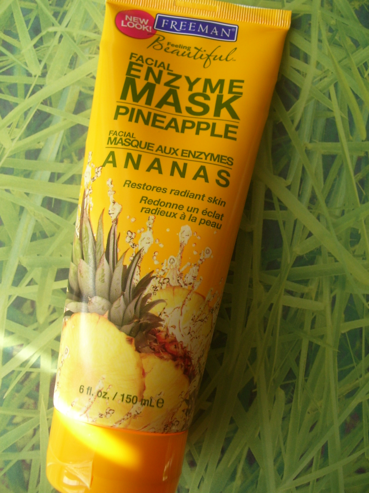 Review:  Freeman Beauty Pineapple Enzyme Facial Mask