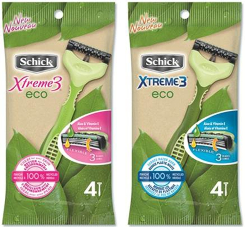 Schick Xtreme3 Eco – Helping the Environment One Razor at a Time