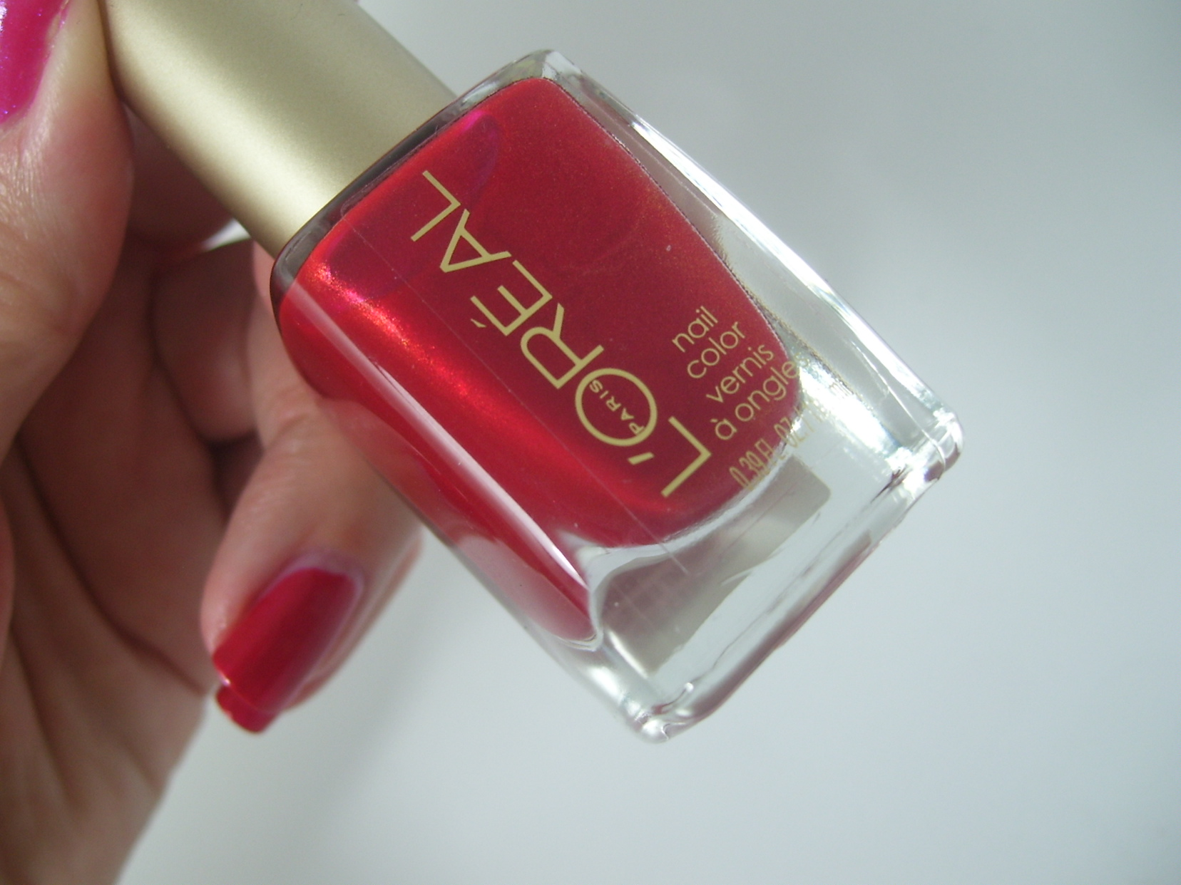 L'Oreal Paris Colour Riche Nail Color - He Red My Mind - My Highest Self