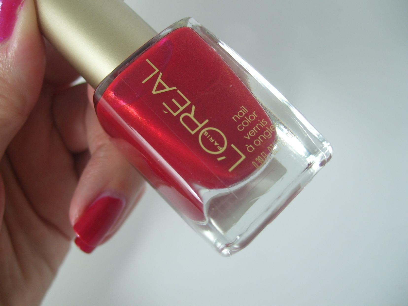 L'Oreal Paris Colour Riche Nail Color – He Red My Mind