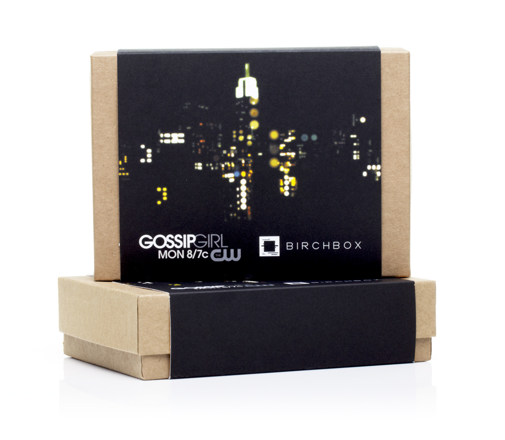 The Gossip Girl Birchbox for May 2012