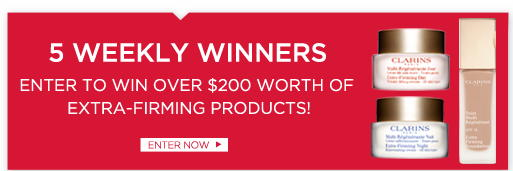 Win a Prize Pack from Clarins Worth Over $200
