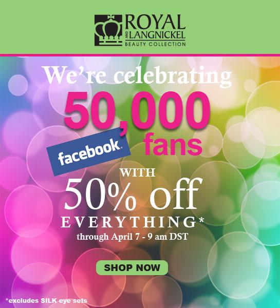 Royal & Langnickel Makeup Brushes 50% Off Sale – Ends April 7