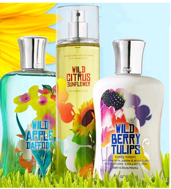 Bath & Body Works Wild Garden Collection and Mother's Day Party Tomorrow, May 5, 2012