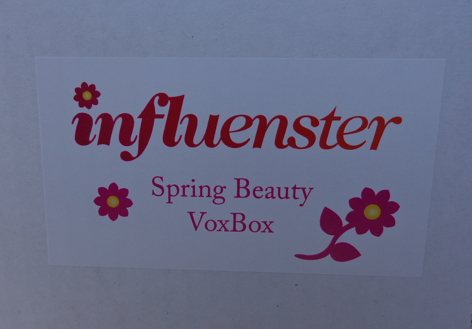 See What's in My Spring Beauty VoxBox from Influenster
